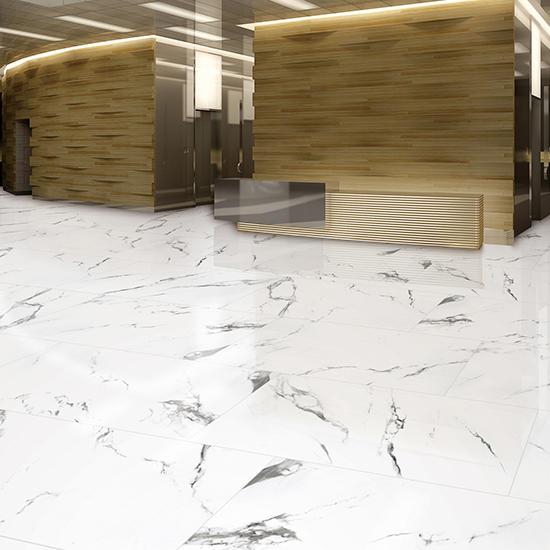 Statuario Super White Marble Porcelain tile bathroom Kitchen sri lanka Anatolia Ceramics Polished Matte Glazed Porcelain tiles