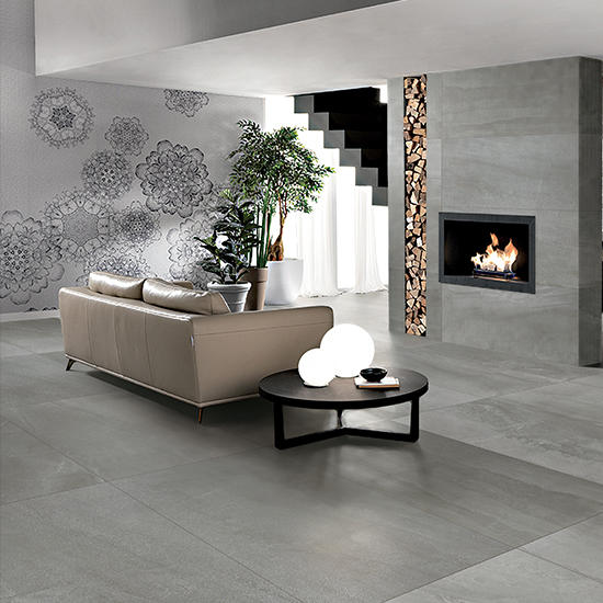 Zeus R10 Glazed Anti non slip Garden Tiles Outdoor Granite Walls and Floor Rak Ceramics Slate Stone Matte 24x24 Porcelain Tiles