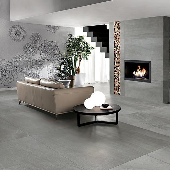 Zeus R10 Glazed Anti non slip Garden Tiles Outdoor Granite Walls and Floor Rak Ceramics Slate Stone Matte 24x24 Porcelain Tiles