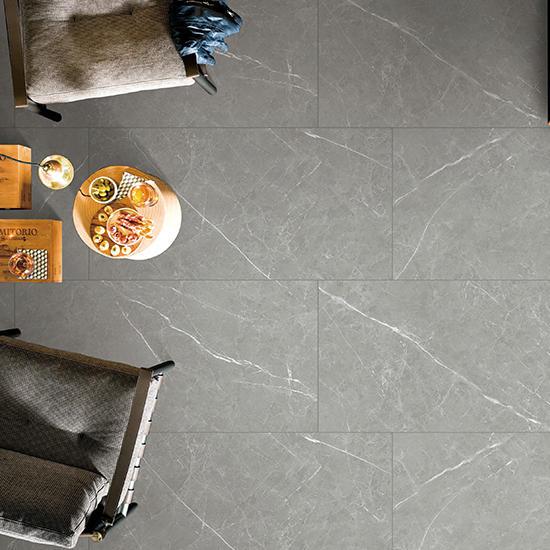 Grey 20 Pietra Grey Updated Marble Rustic Bathroom Tile Foshan Polished Matte Ceramics floor 60x60 Grey Porcelain Tiles