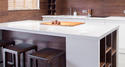 TH-Super White Solid Artificial Stone Panels Polished Surface Bathroom Vanity Countertop Quartzite Kitchen Slabs