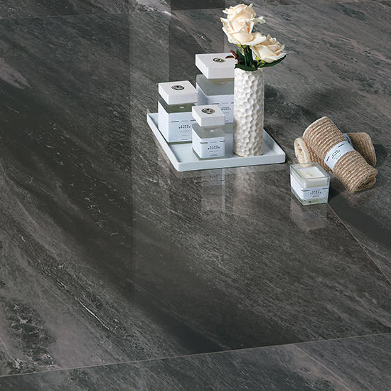 Munich Super Black Marble Villa Polished Porcelain tile Kenya Price of Glazed Matte big size Distributor Ceramic Floor tiles