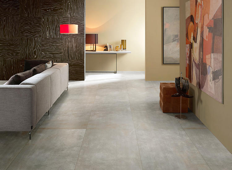 Light Year Cement Concert Dark Grey Glazed Metal Porcelain Matte Ceramic interior Walls and Floor Metallic Tiles