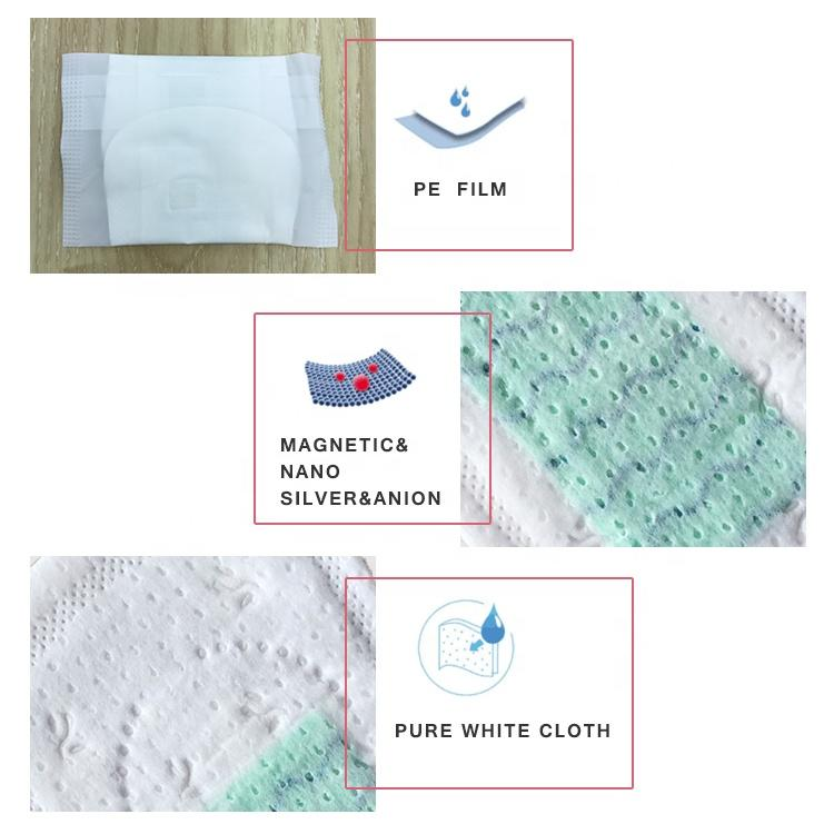 Breathable and ultra-thin anion panty liners for women in stock