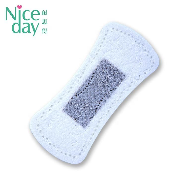 So cool icy feeling herbal panty liner mini Charcoal panty liners