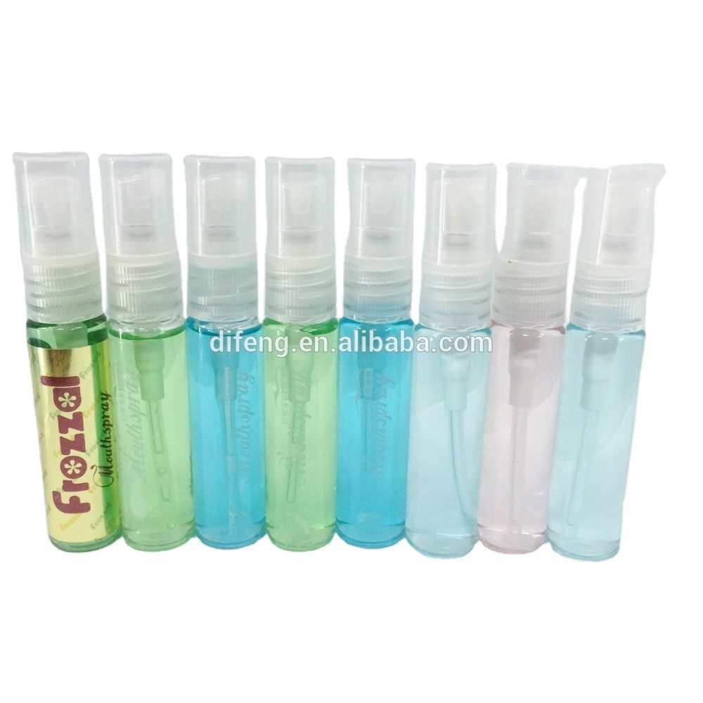 factory supply 12ml mint mouth refreshing spray for bad breath