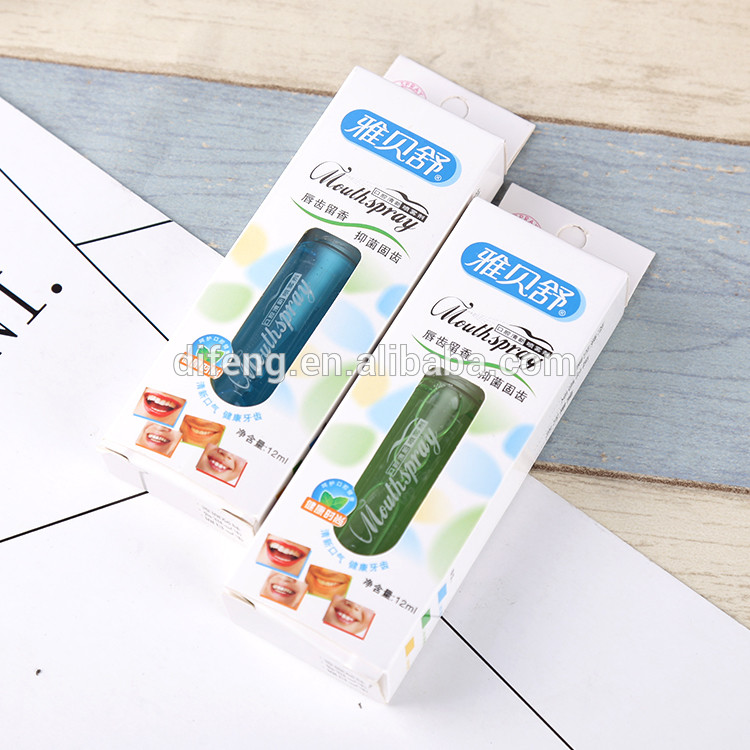 wholesale oral care 12ml mouth spray bad breath products