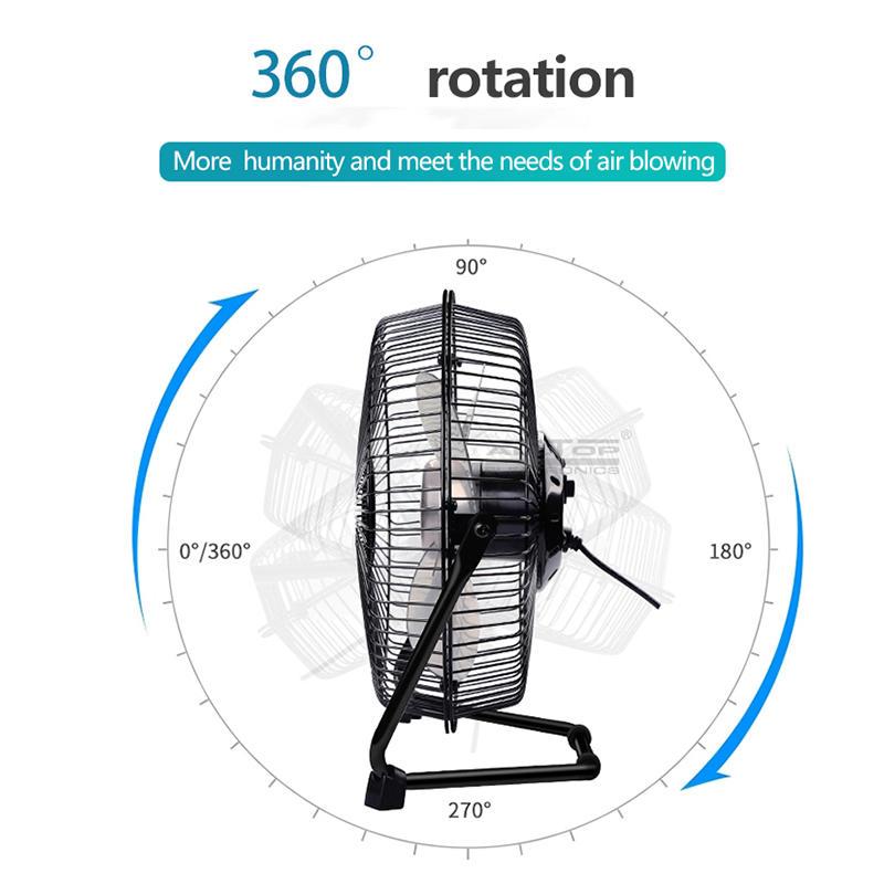ALLTOP 2020 Best design durable 15v dc 24w solar panel rechargeable solar fan