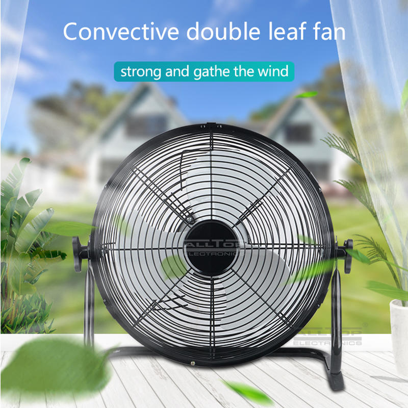 ALLTOP Best design durable 15v dc 24w solar rechargeable mini solar fan