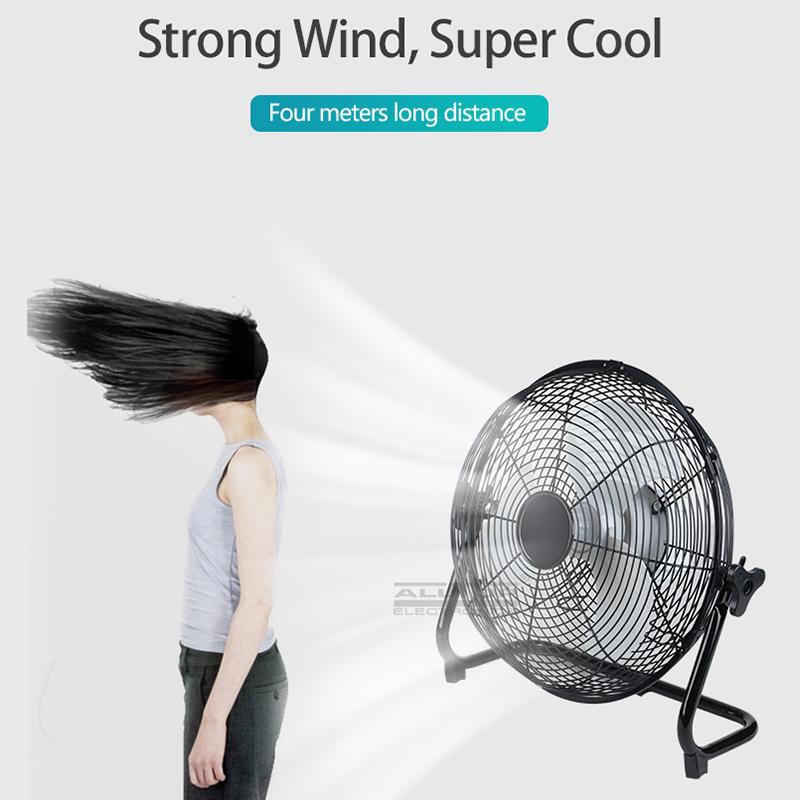 ALLTOP Super strong wind energy saving 24w solar panel rechargeable solar fan