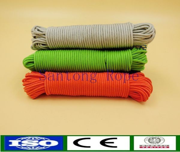 solid braided cotton sash cord