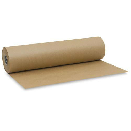 Good quality low price gift wrapping paper brown kraft paper roll
