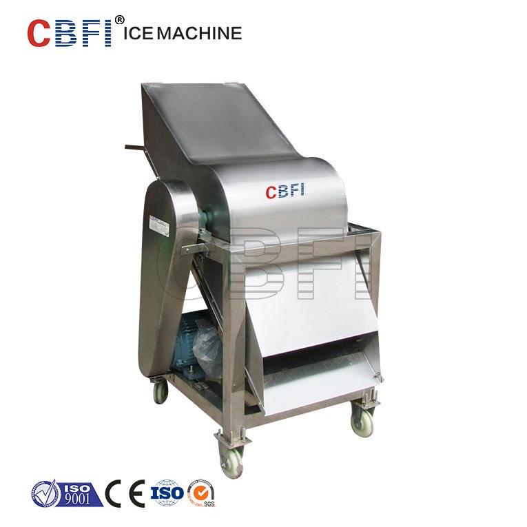 Customizing 100KG Crushed Ice Machine used for block ice