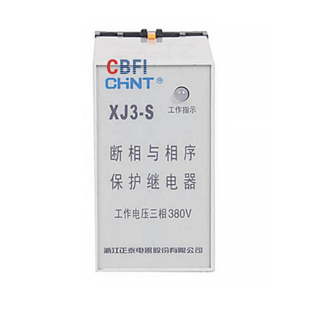 China Brand XJ3 Series Phase Failure Phase Sequence Relay For Power Supply