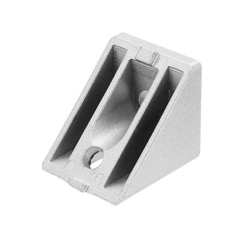 2019 Best choice aluminum corner joint Right angle connecting piece 45 degree angle bracket