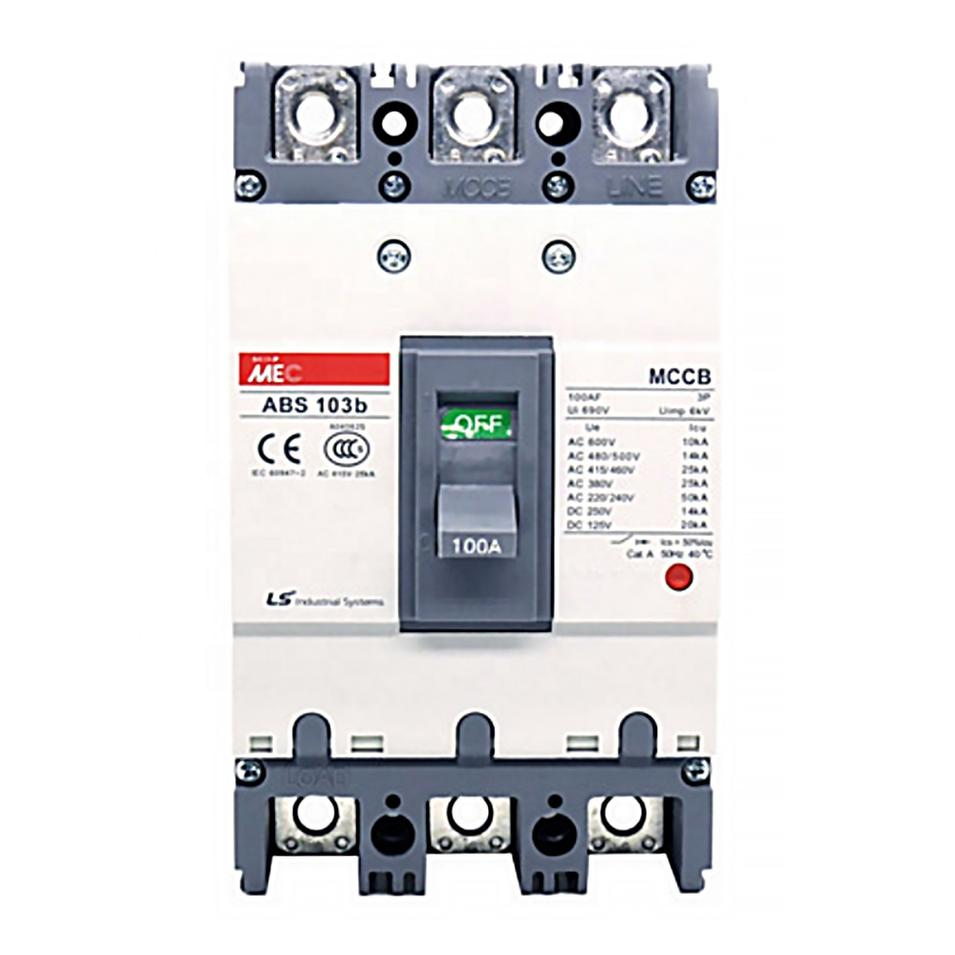Pressure magnetic Moulded Case ABE103B Series Vacuum Circuit Breakers for sale