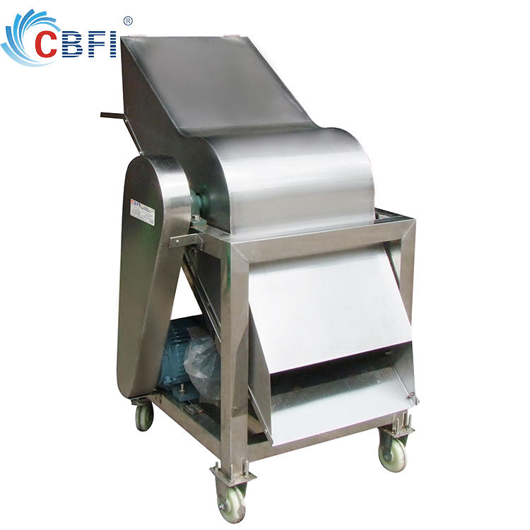 Guangzhou Ice crusher machine to cut block ice into small pieces ice
