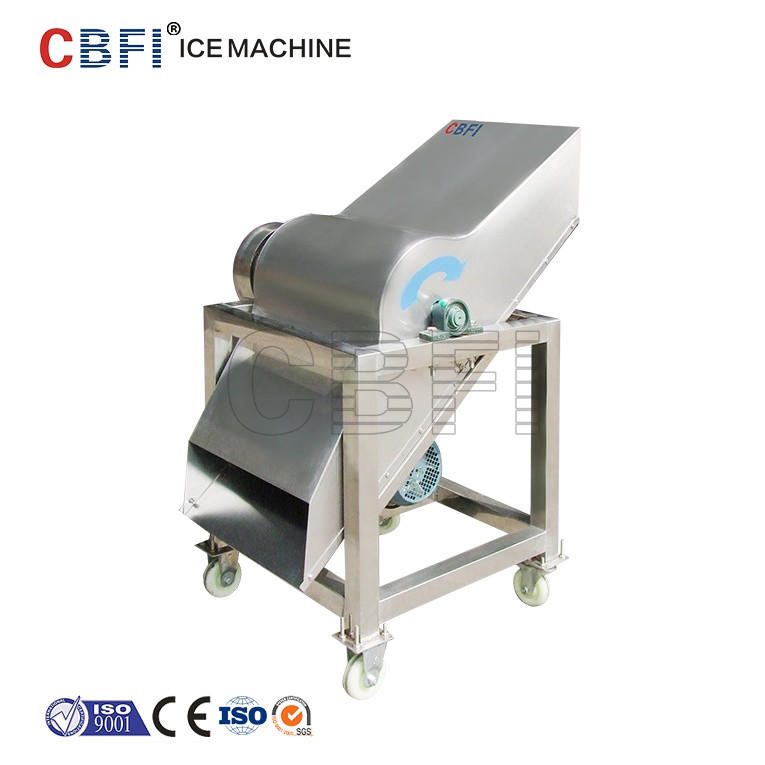 Block Ice 60KG Electric Ice crusher forSeafood Preserved