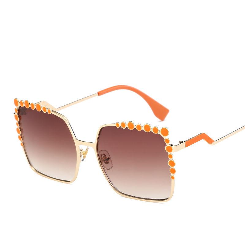 EUGENIA 2020 New Small Order Wholesale Fashion Square sunglasses