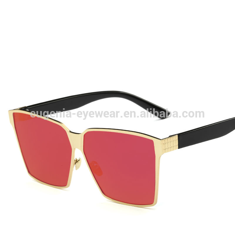 EUGENIA new trends best quality brand crystal interchangeable temple armmetal sunglasses