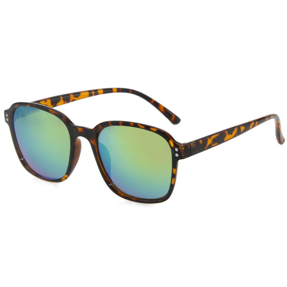 EUGENIA Mirror Lens Square Shape High Quality Anti UV Handmade Top Selling 2020 Sunglasses