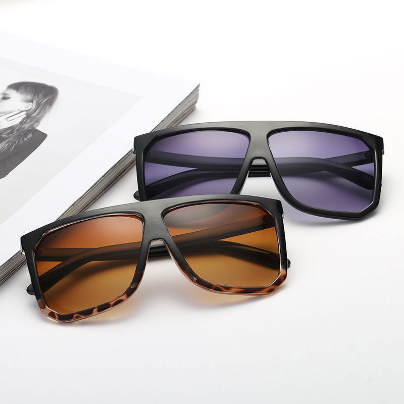 EUGENIA Promotional Plastic Custom Logo for Women and Man Square Sunglasses
