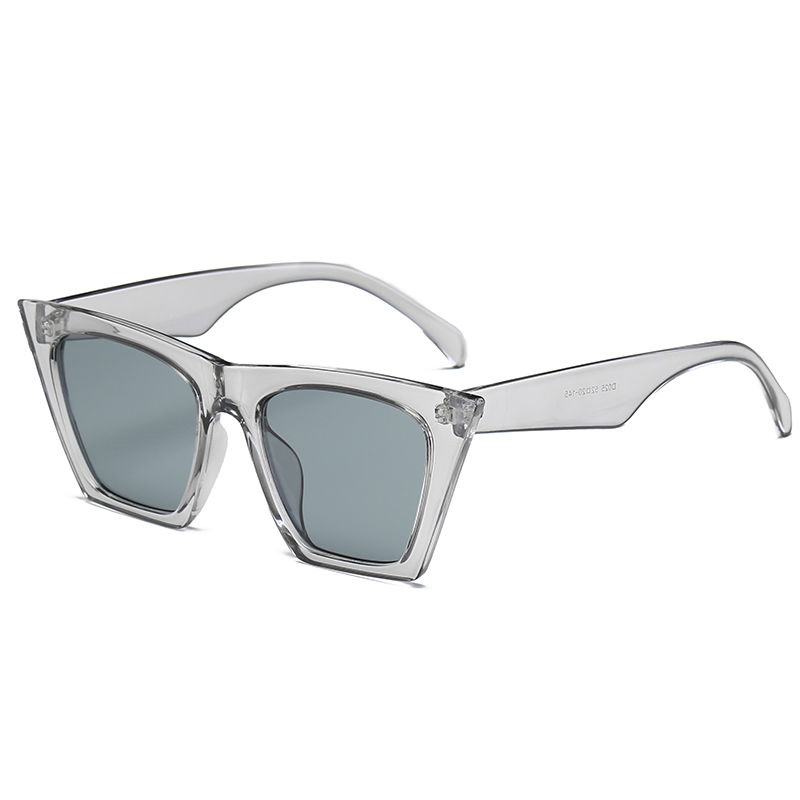 EUGENIA New Ladies Hot Sale Brand Designer Women Clear AC Lens Pilot Polarized Sunglasses