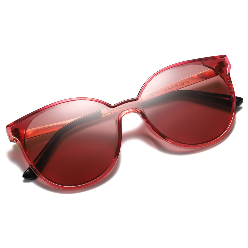 EUGENIA 2020 New Oversized Fashionable Women Cateye Sunglasses