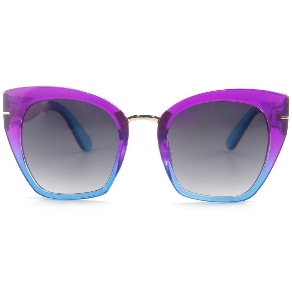 EUGENIA Gafas De Sol Colorful Promotional China Manufacture Oversize Stylish Women Sunglasses