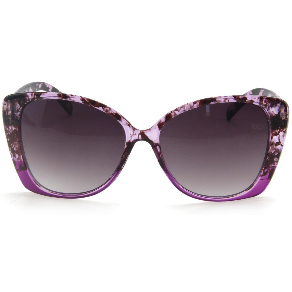 EUGENIA 2020 Custom Logo Cat Eye Glitter UV400 Women Sunglasses