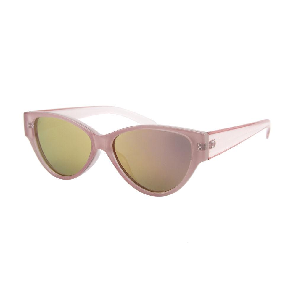 EUGENIA wholesale recycled plastic retro cat eye coating women sunglasses