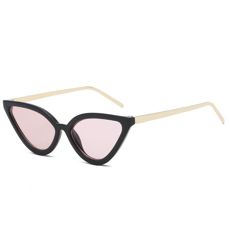 EUGENIA Cheap Small Batch Promotional PC Cat Eye Reservation Women Sunglasses