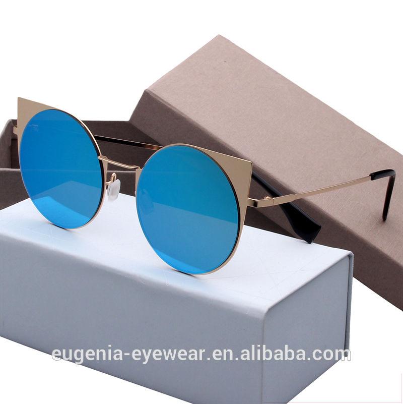 2020 brand women personality cat eye shades glasses