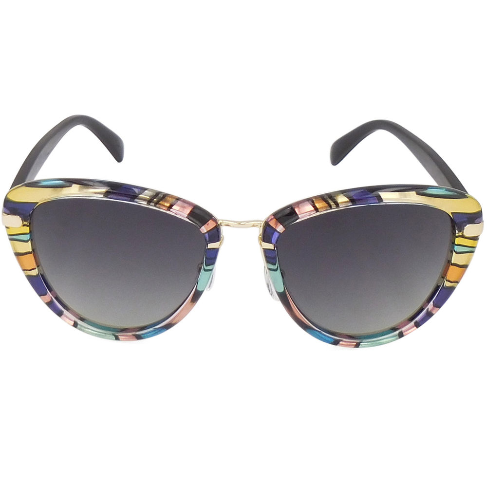 EUGENIA Color Fashional Wholesale Designer Luxury Pattern Sunglasses