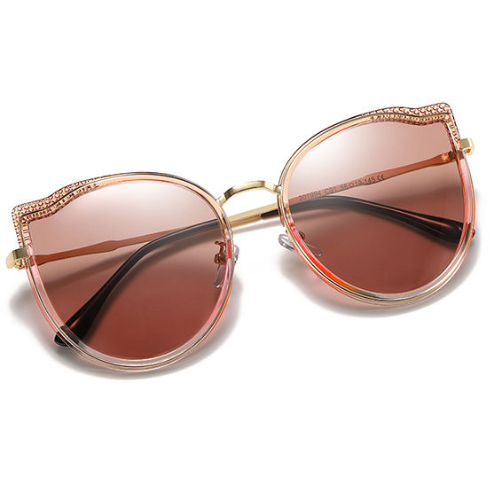 EUGENIA OEM fashion ladies oversized custom popular sunglasses