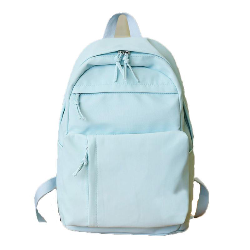 mochilas Cute Pretty Style Girls School Backpack Big Capacity Waterproof Nylon Schoolbag Backpack Fashion Girls School Bag for Teenager