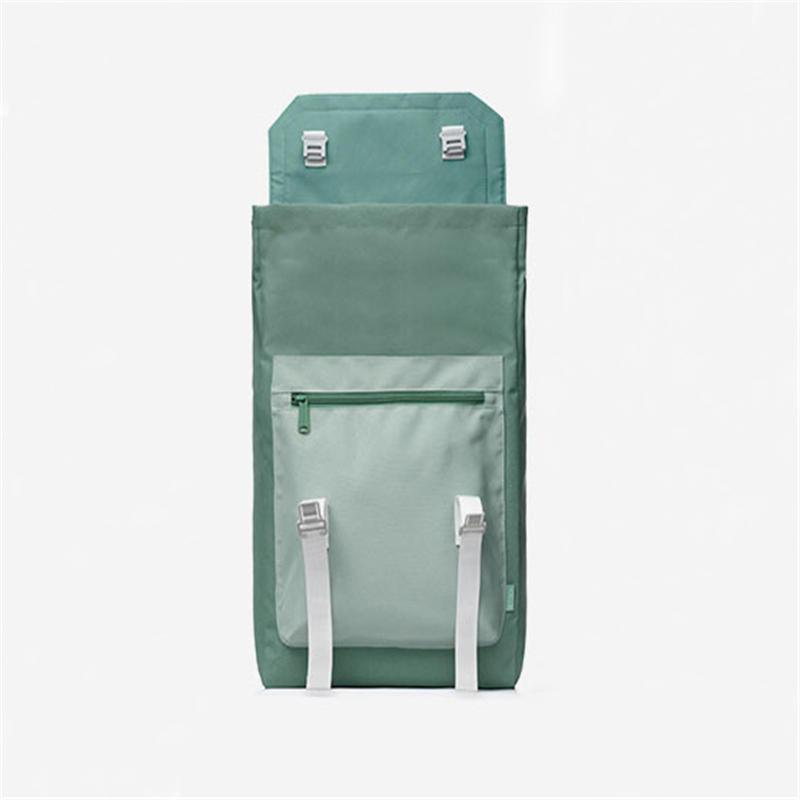 mochilas New- style Backpack Men's Korean Leisure Travel Schoolbag Nylon poly Waterproof Women's Backpack