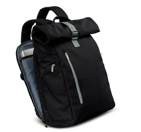 mochilas Stylish Wholesale Rolltop School Travel Laptop Backpack Unisex Casual Bag