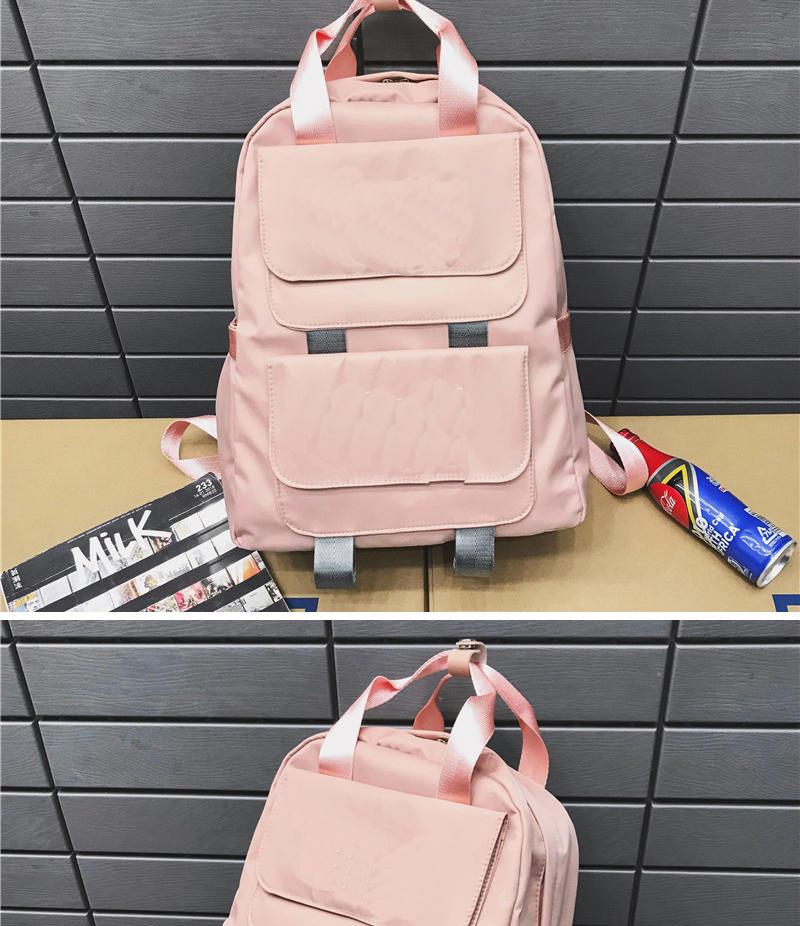 mochilas Hot New Large Capacity Backpacks Waterproof nylon Ring portable backpack School bag for Teenage Girls Mochila Female Daypack