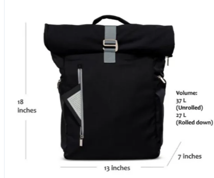 mochilas Stylish Wholesale Rolltop School Travel Laptop Backpack Unisex Casual Bag