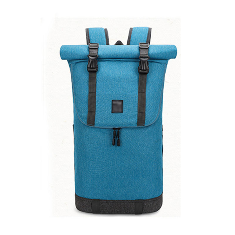 mochilas Laptop Backpack Women & Men Roll Top Water Resistant Travel Hiking Rucksack Lightweight Casual Daypack Stylish School Bag