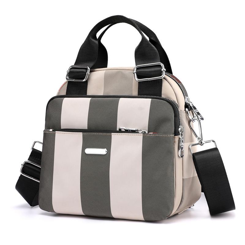 mochilas Cute Travel Women Backpacks Small Multifunctional Shoulder Bag For Women 2020 Waterproof Nylon Strip Multi Pocket backpack