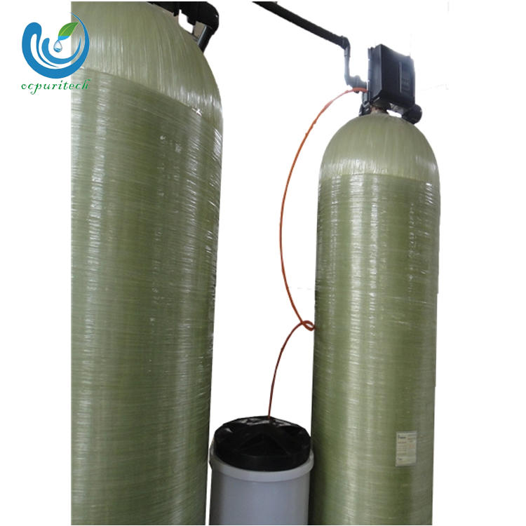 Drinking sea water purification plant pre-treatment with uv lamp for water purification