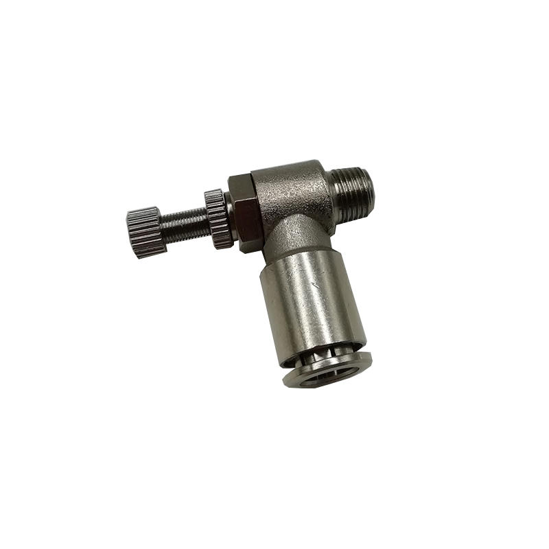Unidirectional speed regulating valve TKC-SL8-01 Air Screwdriver Gas pipe