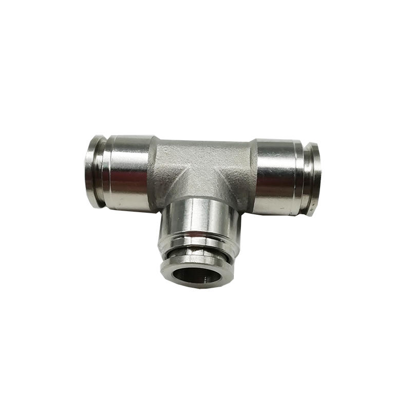 Chemical industry BKC-PE12 stainless steel pipe fitting quick connector Pneumatic tube fitting
