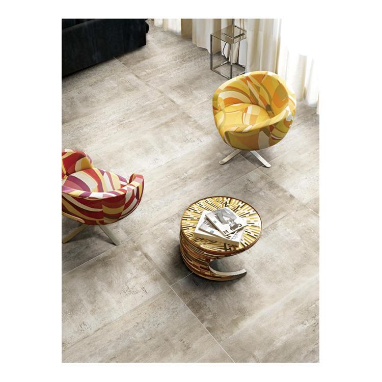 Unbreakable concrete floor tile