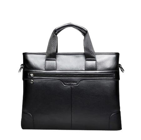 Top Quality Classic Men waterproof PU laptop bag stylish multi-pocket Sling Shoulder Messenger bag Briefcase Handbags for man