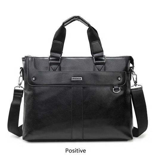 Eco-friendly PU leather bag business briefcase ladies bag