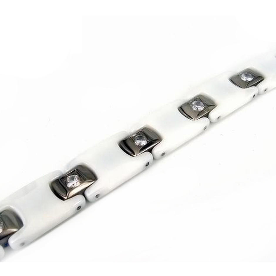 Hot titanium stainless steel magnetic jewelry bracelet for men