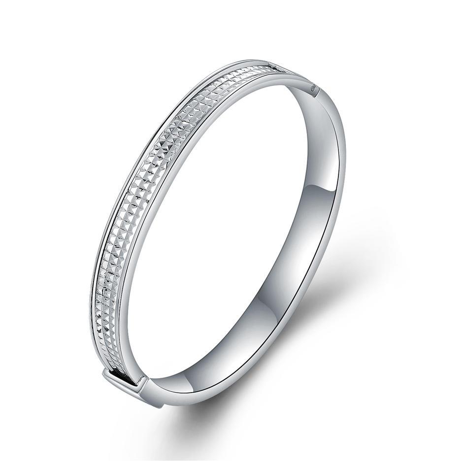 Decent Trendy Stainless Steel Thread Bracelet Jewelry Woman